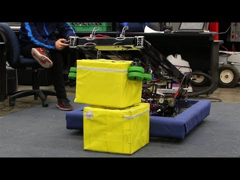 2018 Robot Reveal - Plasma Robotics - FRC Team 2403