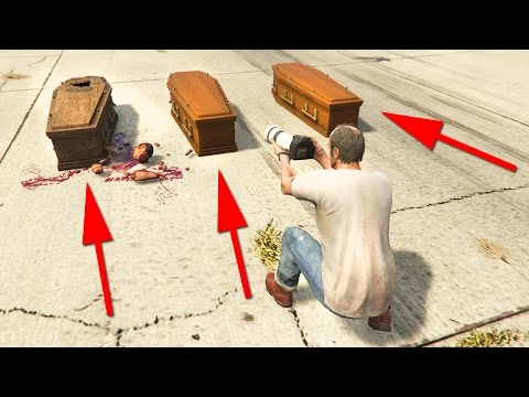 WO IST DER TOTE ? - GTA 5 HUNGER GAMES