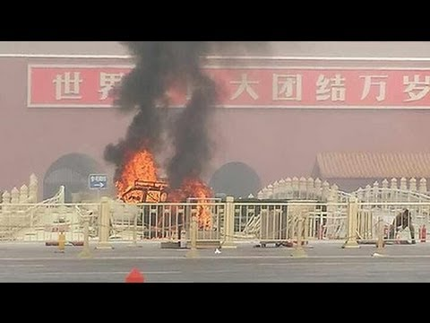5 killed in car crash in China's Tiananmen Squ