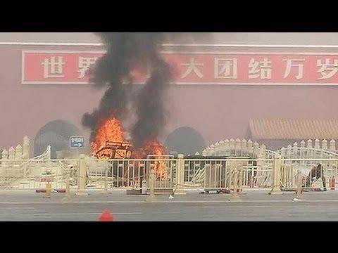 5 killed in car crash in China's Tiananmen Squ