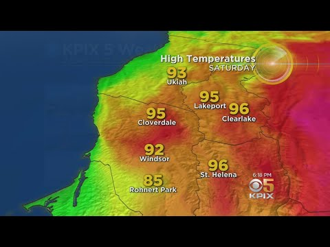 HOT WEATHER:  The latest from the KPIX 5 weather team on the heat wave