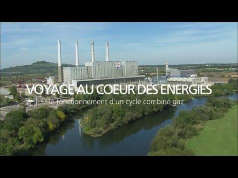 Le fonctionnement d'un cycle combiné gaz