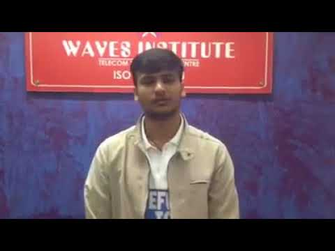 Waves Institute Pune  Telecom Training   Placed Student 6
