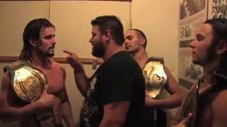 Kevin Steen's (Kevin Owens') FUNNIEST PROMO EVER w/ Young Bucks & Adam Cole
