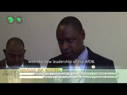 Interview Geraldo Joao Martins, ministre des Finances de Guinée Bissau ( AA 2015)