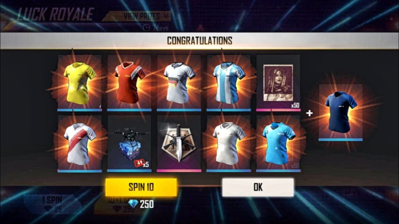 How To Get all Football Jersey From New Soccer Royale? || Free Fire Rare Items Trick