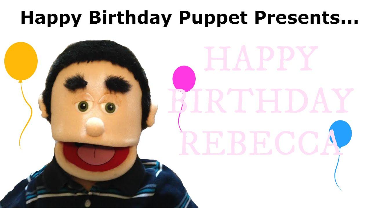 maxresdefault happy birthday rebecca funny birthday song youtube