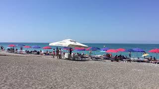 Частный сектор в Абхазии отдых на берегу моря в Гаграх пляж у гостевого дома