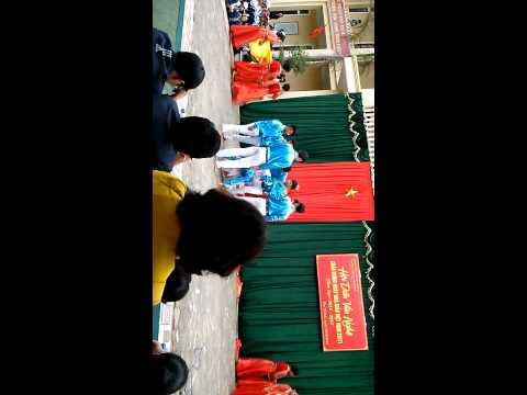 Múa rạng rỡ việt nam k08 trường THPT Nam Yên Thành
