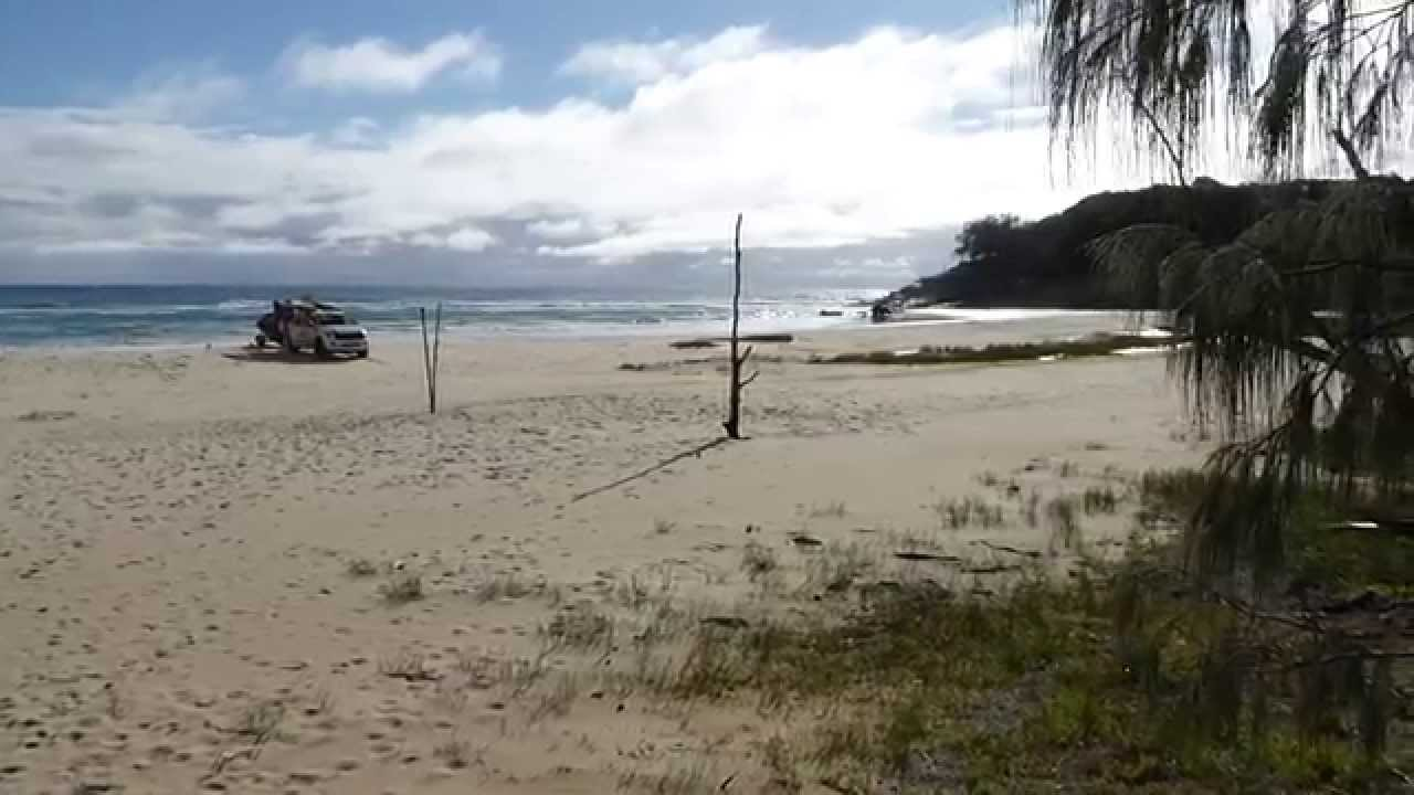 Connecting You To North Stradbroke Island: Cylinder Beach Camping Ground
