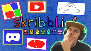 Skribbl.io #1 | Pictionary with People Online | Funny Drawings, Moments and More!
