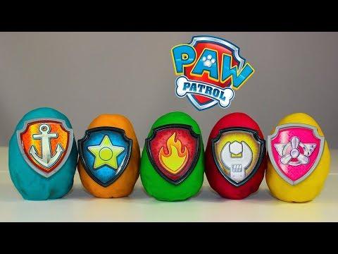 🐶 Щенячий патруль  🐶 Киндер Сюрпризы Мультики для детей про игрушки Paw Patrol