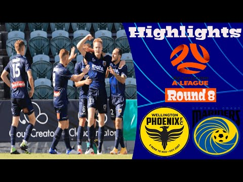 Wellington Phoenix Central Coast Goals And Highlights
