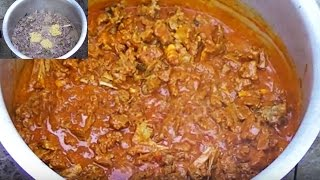 Indian Street Food Mutton Curry Rec...