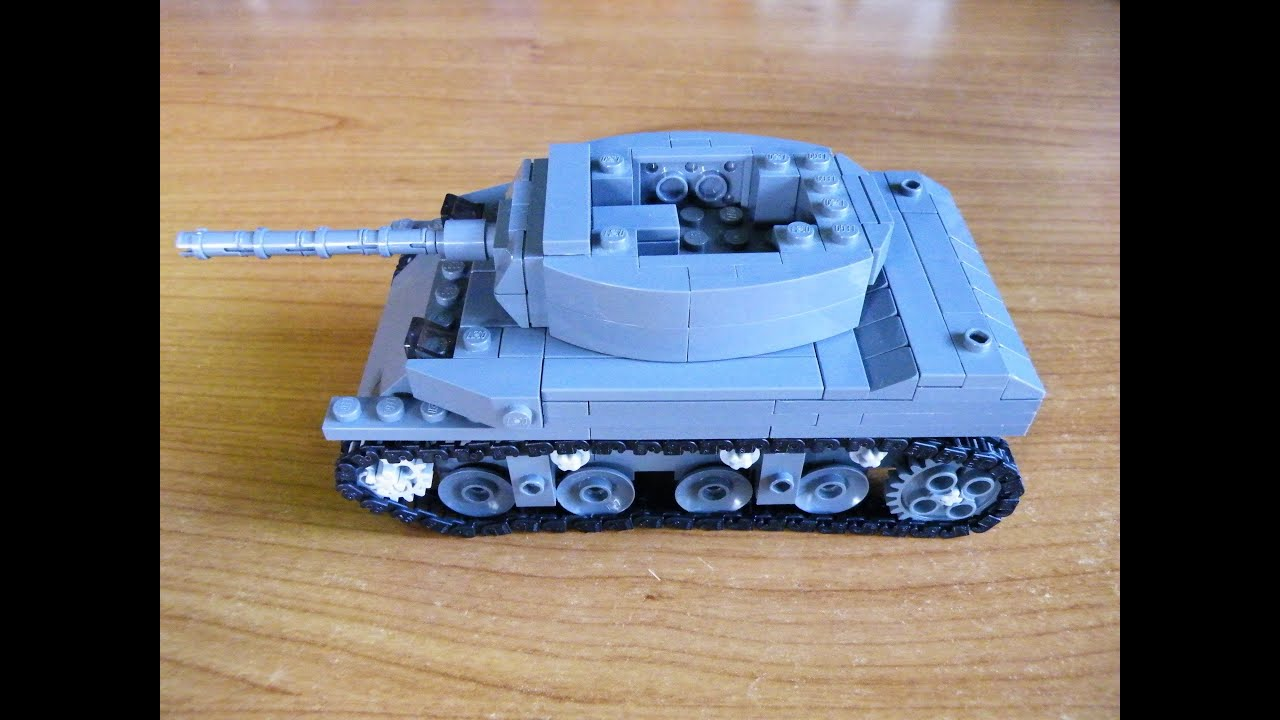 How To Build A Lego Army Tank