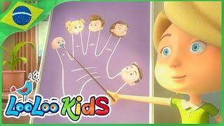 A familia Dos Dedos - Músicas infantis| LooLoo Kids Português