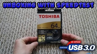 Toshiba Exceria Pro N101 Unboxing with Read/Write Speedtest