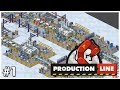 Production Line - #1 - The Basics - Let's Play / Gameplay / Construction