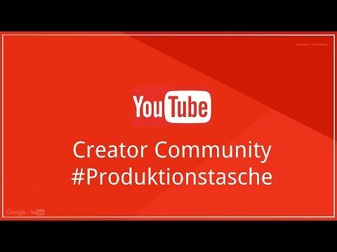 #Produktionstasche 🎒 - So nehme ich auf! - YouTube Creator Community