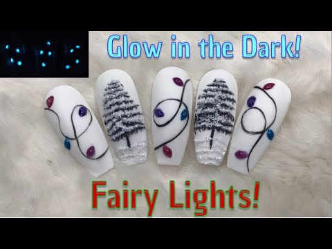 Glow in the Dark Fairy Lights and Wintry Trees! | Madam Glam | Nail Sugar