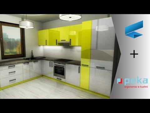 Corpus CAD/CAM  - Projektowanie kuchni wyposażonej w systemy Peka