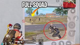 CAN I SAVE HIM FROM FULL SQUAD?? | PUBG MOBILE