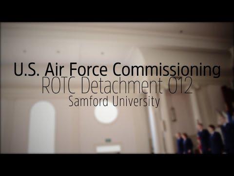 Sights & Sounds:  U.S. Air Force ROTC Commissioning at Samford University