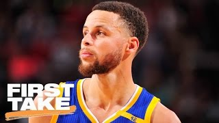 Does LeBron Take Issue With Steph Curry's Rise To Stardom? | First Take | April 11, 2017