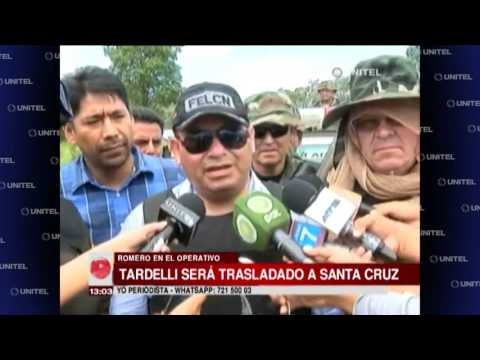 Ministro Carlos Romero aseguró que brasileño Tardelli fue detenido