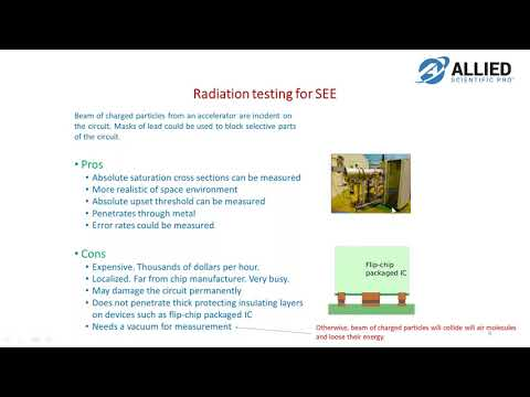 -Webinar- Laser testing of Single Event Effects SEE and Case Studies