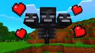 How To Make a Friendly Wither in Minecraft Pocket Edition (Tame Wither Addon)
