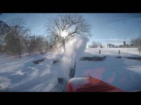 Simplicity Tractor Snow Blower Repair