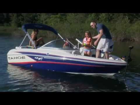 TAHOE Boats: 2013 Q4SF Ski & Fish Boat
