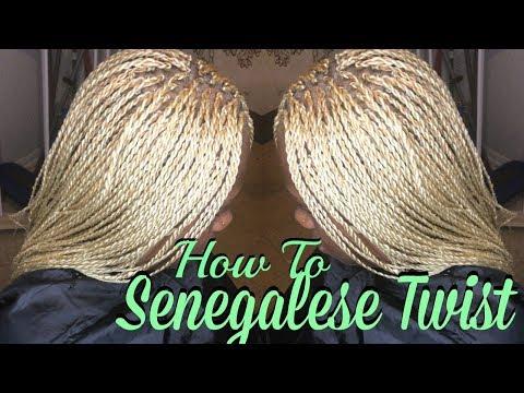 How To: Senegalese Twist/ Micro Twist Tutorial