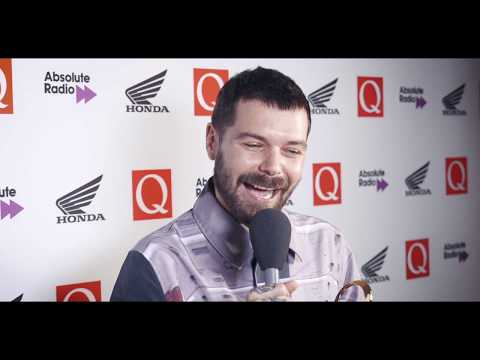 """I&39;m rubbish at the guitar"" Biffy Clyro&39;s Simon Neil&39;s talks to Q post Fender Play Award QAwards"