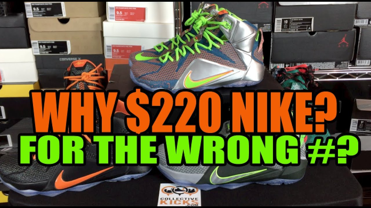 bacdbabde7f Why  220 Tho Nike  Lebron 12 XII