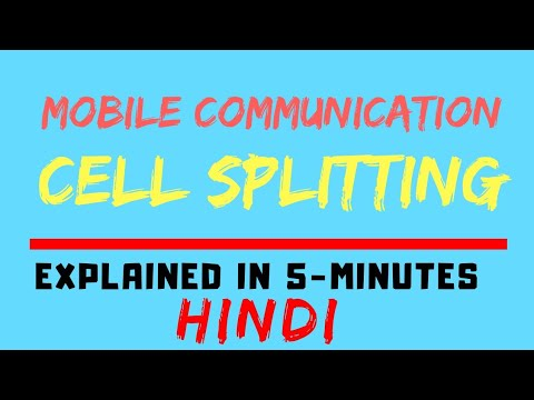 Cell Splitting Easiest Explanation Ever With Scenario /Example : Mobile Communication (HINDI)