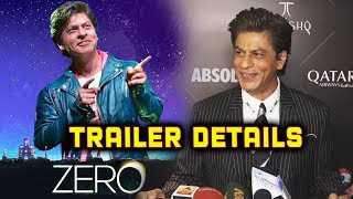 ZERO TRAILER: Shahrukh Khan OPENS Up On The Details Of ZERO