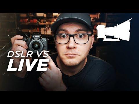 DSLR VS LIVE! - Canon M50 First Impressions!