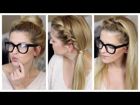 howto 3 schnelle frisuren f r uni schule arbeit quick and easy hairstyles diana delo youtube. Black Bedroom Furniture Sets. Home Design Ideas