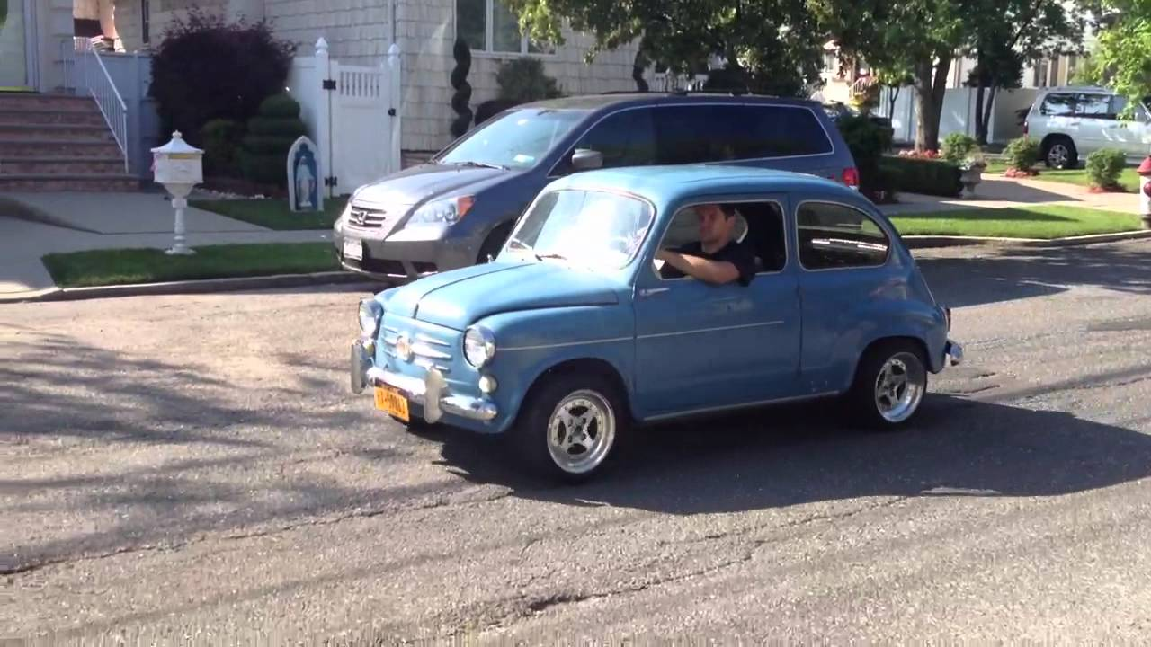 1960 Fiat 600 first drive of 2012 - YouTube
