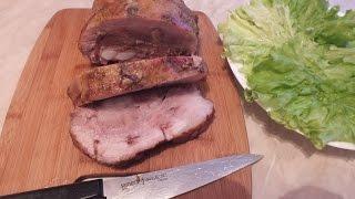 Как приготовить ароматную  свинину в фольге в духовке буженина по домашнему