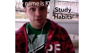 Study Habits - Learn English online free video lessons strategies for studying English tactics ESL