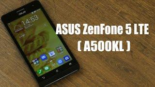 Розпакування Asus ZenFone 5 (A500KL)