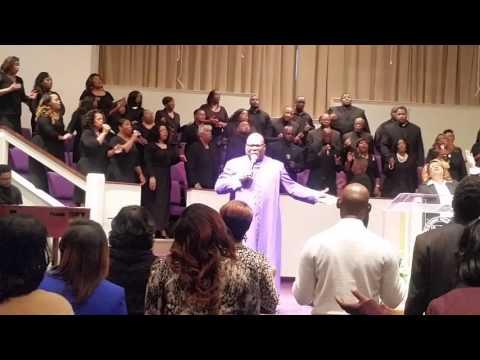 """Bishop Kevin Willis & NLIC Choir """"Total Praise"""""""