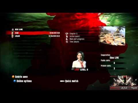 Dead Island Personal Statistics Profile Glitch