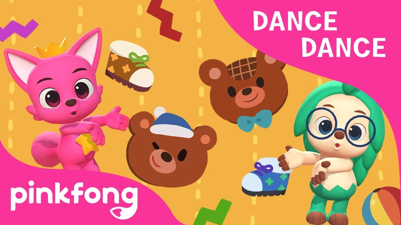 Teddy Bear | Dance Dance | Nursery Rhyme | Pinkfong Songs for Children