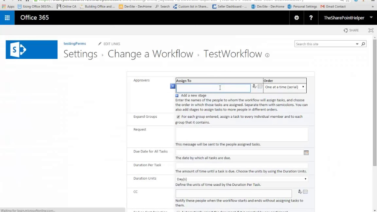 sharepoint 2013 approval workflow  Step by step: Sharepoint 2013 approval workflow - YouTube