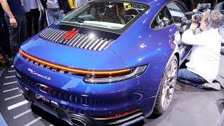 Новый Porsche 911 (Серия 992). Первый Взгляд На Автомобиль Порше 911 2019