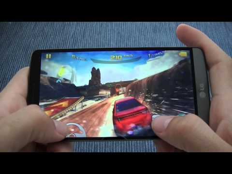 Prueba de juegos con el LG G3